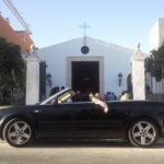 Audi A4 Cabrio Descapotable de Alquiler en Sevilla